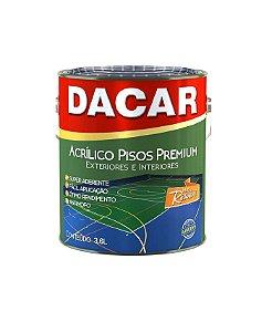 Tinta Para Piso 3,600 Litros Amarelo Demarcação - DACAR