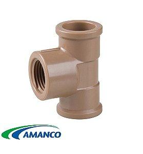 TE LR ( Soldável com Rosca ) 25 x 3/4 - AMANCO