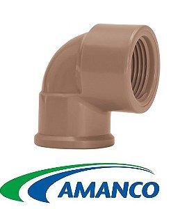Joelho LR ( Soldável com Rosca ) 25 x 3/4 - AMANCO