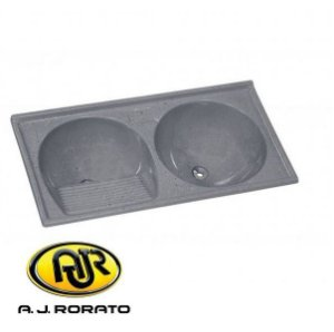 Tanque Duplo Sintético 0,51 X 100 MT Cinza - AJ RORATO
