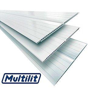 Forro PVC Germinado Gelo Peças 7mm X 6 mt ( VALOR DO M² ) - MULTILIT