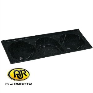 Tanque Triplo Sintético 0,63 X 1.80 MT Preto - AJ RORATO