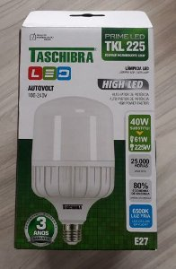 Lampada LED 40 W High TKL 225 6500K - TASCHIBRA