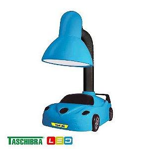 Luminária de Mesa TLM 50 kids Carro Azul - TASCHIBRA