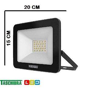 Refletor LED TR 30 W ( 2400 LUMES ) 6500K 110-127V - TASCHIBRA