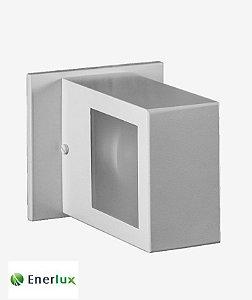 Arandela Iluminação Indireta Grande 2 Vidros E-27 - ENERLUX
