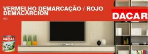 Esmalte Sintético Standard 900 ML Vermelho - DACAR