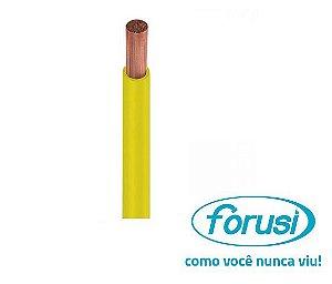 Fio Flexível 4,00 MM Amarelo - FORUSI