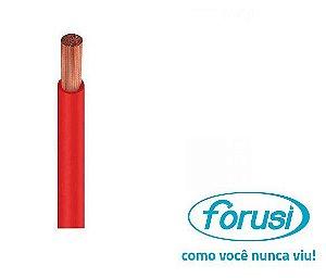 Fio Flexível 10,0 MM Vermelho - FORUSI