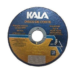 Disco de Corte Aço Inox 114,3 x 1,0 x 22,23 - KALA