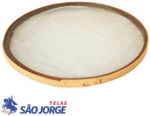Peneira Aro de Madeira para Areia 55CM - SÃO JORGE