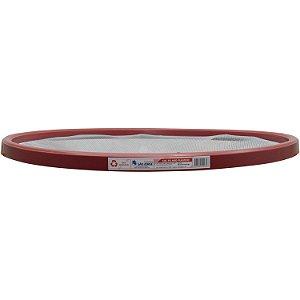 Peneira Aro Plástico Vermelho para Feijão 55CM - COMEP