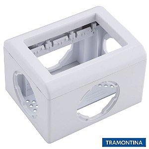 Caixa Para Eletroduto ou Canaleta Branca - TRAMONTINA