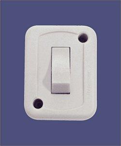 Interruptor Externo Simples 10A/250V - TRAMONTINA