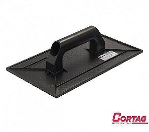 Desempenadeira de Plástico Estriada 30 x 18 CM - CORTAG