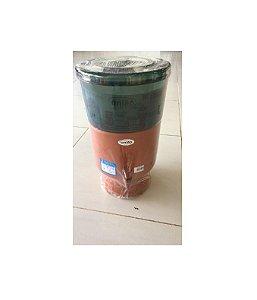 Filtro de Barro com Acabamento em Acrílico 11 Litros Fumê - UNIÃO UTILIDADES