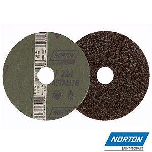 Lixa Disco Metal Grão 24 F-212 180 MM - NORTON