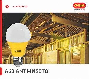 Lâmpada LED 6W A60 E27 Anti-Insetos 127/220V - G-LIGTH