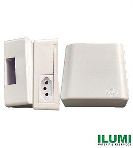 Caixa de Sobrepor para Disjuntor Com Tomada 20A - ILUMI