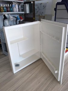 Armário para Banheiro com Porta Branco - LUCONI
