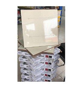 Porcelanato Inout 56x56 Silestone Blanco - INCEFRA