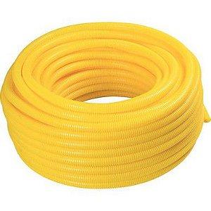 """Eletroduto Flexível 1"""" Amarelo - PLASTIBRAS"""