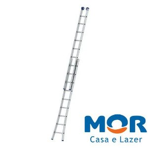 Escada Extensiva 2 x 9 - MOR