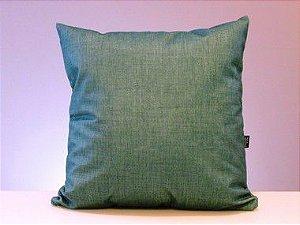 Capa para almofada suede - verde