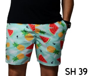Short Praia Masculino Moda 2019 Tropical