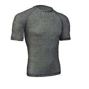 Camiseta Segunda Pele High Bio Go Ahead Verão Calor Cinza