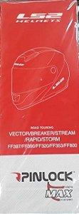 Pelicula Anti Embaçante Pinlock Viseira Ls2 Ff800 Storm