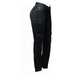 Calça Jeans Feminina Com Proteção Penelope Hlx Confort