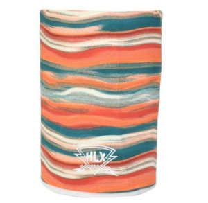 Bandana Caveira Tubo Flex HLX Listrada Colorida