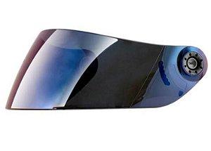 Viseira Capacete Shark S800/S650/S700/S900 Openline Azul