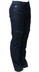 Calça Jeans Masculina Com Proteção Street Hlx