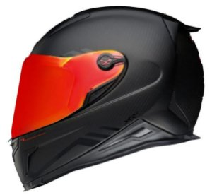 Capacete Nexx XR2 Redline Preto Fosco Carbono + Viseira