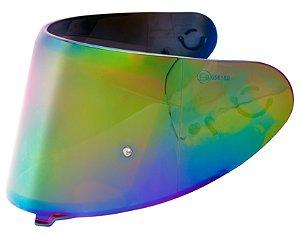 Viseira Capacete Axxis V18B camaleão Espelhada 2mm Original