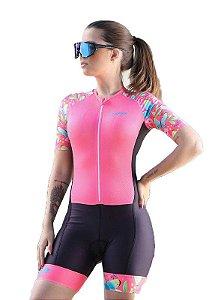 Macaquinho Ciclismo Feminino BUTTERFLY Ciclopp Bike MGC
