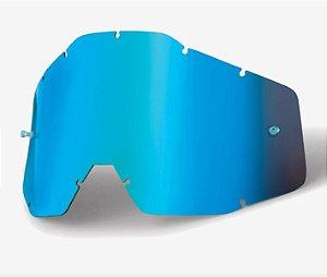 Lente Oculos 100% Racecraft 2 Accuri 2 Strata 2 Azul