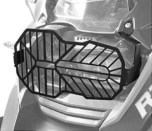 Protetor Farol Aço Carbono Bmw R1200gs e Adventure 2013+