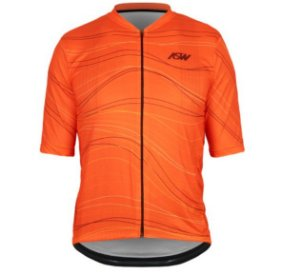 Camisa Masculina Ciclismo Bike Asw Versa Mesh Laranja