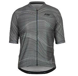 Camisa Masculina Ciclismo Bike Asw Versa Mesh Cinza