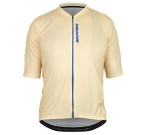 Camisa Masculina Ciclismo Bike Asw Versa Basic Bege