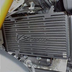 Protetor Radiador Suzuki V-strom1000 2014+ Preto