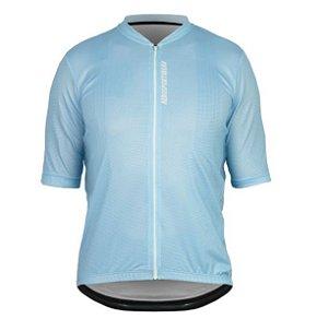 Camisa Masculina Ciclismo Bike Asw Versa Basic Azul
