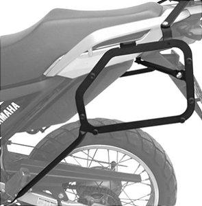 Suporte Baú Lateral Yamaha Crosser 150 2014+ Preto