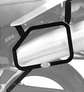 Afastador Alforge Suzuki V-strom 1000 2002 a 2013 Preto