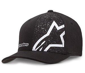 1ee1d16048a86 Boné Alpinestars Percent Gray Original Flex Fit - Motoxwear