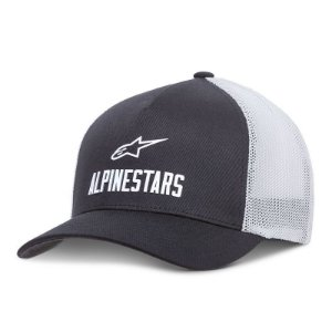Boné Alpinestars Stated Preto Flex Fit