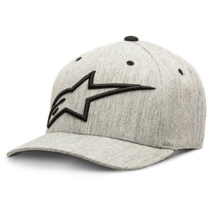 Boné Alpinestars Topper Grey Hetaher Original Flex Fit